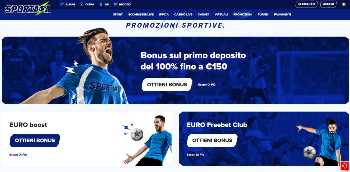 Sportaza bonus e promozioni